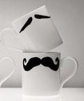 Die MAURICE-POIROT Schnurrbart-Tasse