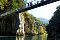 Hängebrücke in der Klobensteinschlucht