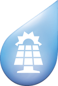 Symbol für Werterhalt durch Solarzellen
