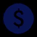 Icon mit Dollarzeichen