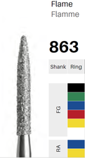 FG-Diamant 863, Flamme