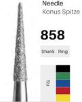 FG-Diamant 858, Konus Spitze