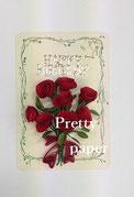 Sさんの薔薇のカード