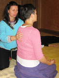 Yuki en la espalda y pecho