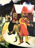 Chagall, Il violinista, 1911