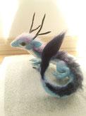 羊毛フェルト 東洋 ドラゴン 龍