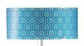 Kunststoff U0106 blau-hexagon