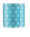 Kunststoff U0206 blau-hexagon
