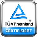 Petersohn Fenstertechnik, Fassadentechnik ist vom TÜV Rheinland zertifiziertes Unternehmen