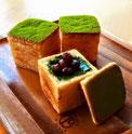 岐阜県 美濃加茂市 ドイツパン ベッカライフジムラ クリームパン デニッシュ生地 さくさく 季節限定 しかく 予約 数量限定 抹茶 かのこ豆