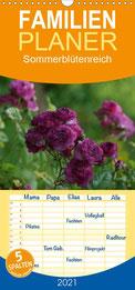 Familienkalender 2021 Blüten