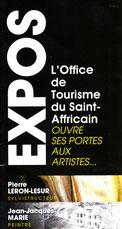Annonce de l'expo à Saint Affrique 2013