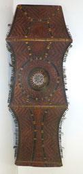 Antiker,asiatischer,chinesischer Schild ,Gravur, geschnitzt, Bambus,Tierborsten , € 1200,00