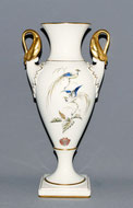 Schwanenhalsvase, Gold, Alboth & Kaiser, Mitte 20. Jahrhundert, Paradiesvogel , € 135,00
