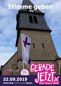 Wahlplakat Kirchenvorstand Jestädt