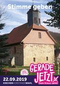 Wahlplakat Kirchenvorstand Motzenrode