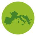 Genuss; Set; Gewürze; Gewürzmischungen; Mediterran; Italien; Frankreich; Tomate; Mozzarella; Knoblauch