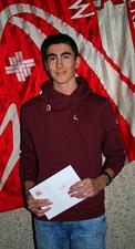 Tom Felber - 12. Rang Schweizer Final 1000m U16 mit PB, 4. Rang Schweizermeisterschaft 600m, Kantonalmeister 600m und Hochsprung