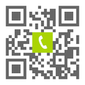 Telefonnummer der Zahnarztpraxis Dres. Finding in Nürnberg: Einfach scannen und anrufen!