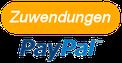 PayPal Zuwendungen Spenden Button