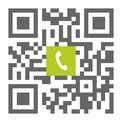 Telefonnummer der Zahnarztpraxis Constanze Quaas Leipzig Zentrum Süd: Einfach scannen und anrufen!