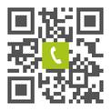 Telefonnummer der Zahnarztpraxis Dr. Christoph Unsin in Erkheim: Einfach scannen und anrufen!