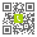 Telefonnummer der Zahnarztpraxis Dr. Thomas Wolf in Darmstadt: Einfach scannen und anrufen!
