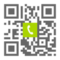 Telefonnummer der Zahnarztpraxis Dr. Peter Bünnigmann in Coesfeld: Einfach scannen und anrufen!