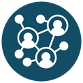 Icon - network of people