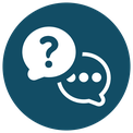 Icon - speech bubble - question and answer