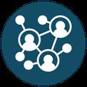 Icon - Netzwerk von Menschen
