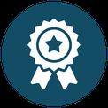 Icon - quality ribbon