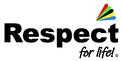 respect-for-life logo mit dem Regenbogen