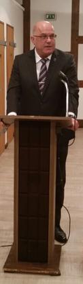 Samtgemeindebürgermeister Eckhard Montzka
