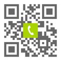 Telefonnummer der Zahnarztpraxis Dr. Max Mustermann in Musterstadt: Einfach scannen und anrufen!