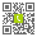 Telefonnummer der Zahnarztpraxis Dr. Aazam Falsafi-Lindenberger in Burscheid: Einfach scannen und anrufen!