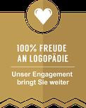 LOGO - 100% Freude Logopädie