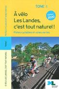 velo dans les landes. pistes cyclables et voies vertes.