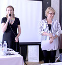 Инна Грубмайр и Елена Пиличева-Чорко