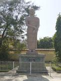 阿難尊者の像