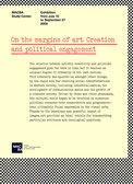 Creation and political engagement. Curator Guy Schraenen MACBA Barcelona