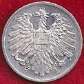 MONEDA AUSTRIA - KM 2876 - 2 GROSCHEN - 1.957 - ALUMINIO (SC/UNC) 0,75€.