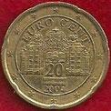 MONEDA - AUSTRIA - KM 3086 - 20 CÉNTIMOS DE EURO - 2.004 - ORO NÓRDICO (MBC+/-/VF+/-) 0,75€.