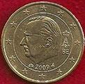MONEDA BÉLGICA - KM 300 - 50 CÉNTIMOS DE EURO - 2.009 - ORO NÓRDICO (MBC-/VF-) 1,50€.