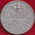 MONEDA AUSTRIA - KM 2878 - 10 GROSCHEN - 1.953 - ALUMINIO (MBC-/VF-) 0,90€.