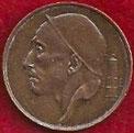MONEDA BÉLGICA - KM 148.1 - 50 CÉNTIMOS (BELGIQUE) 1.998 - BRONCE (EBC/XF) 1,50€.