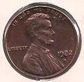 MONEDA ESTADOS UNIDOS - KM 201 - 1 CÉNTAVO DE DÓLAR USA - 1.982 (D) COBRE (SC-/UNC-) 0,60€.