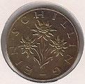 MONEDA AUSTRIA - KM 2886 - 1 SCHILLING - 1.972 - BRONCE (MBC-/VF-) 0,75€.