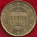 MONEDA ALEMANIA - KM 211 - 20 CÉNTIMOS DE EURO - 2.006 (J) ORO NÓRDICO (SC-/UNC-) 1,10€.