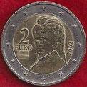 MONEDA AUSTRIA - KM 3089 - 2 EUROS - 2.002 - CUPRONÍQUEL - LATÓN - BIMETÁLICA (BC+/-/F+/-) 3,50€.